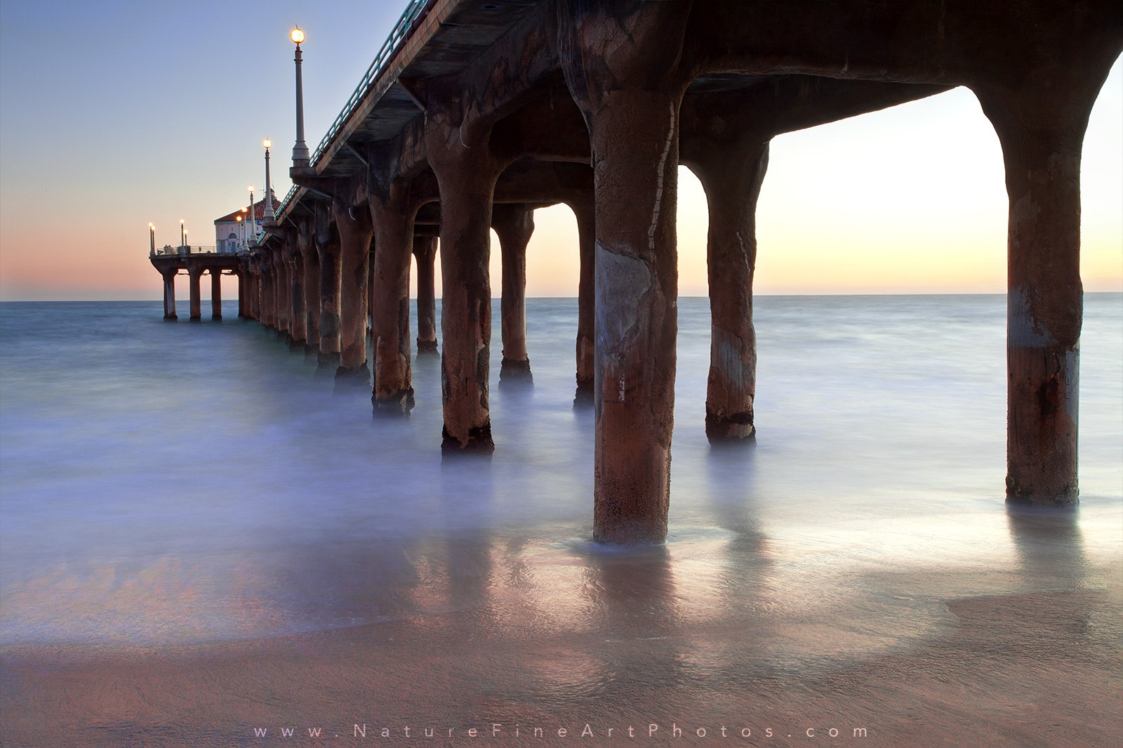 Sunset Photo of Manhattan Beach Pier