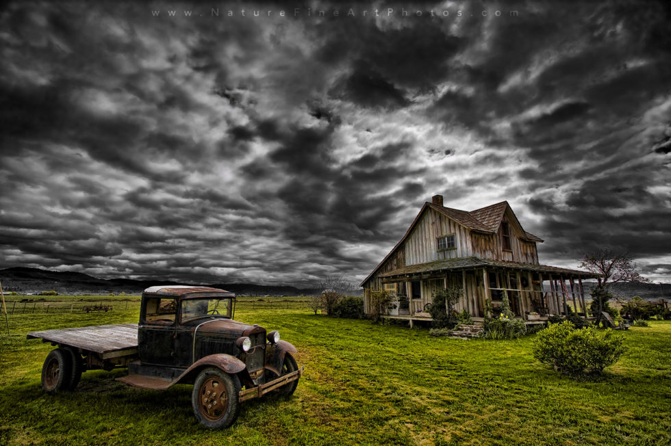 Nature Photo of The Old House in Oregon