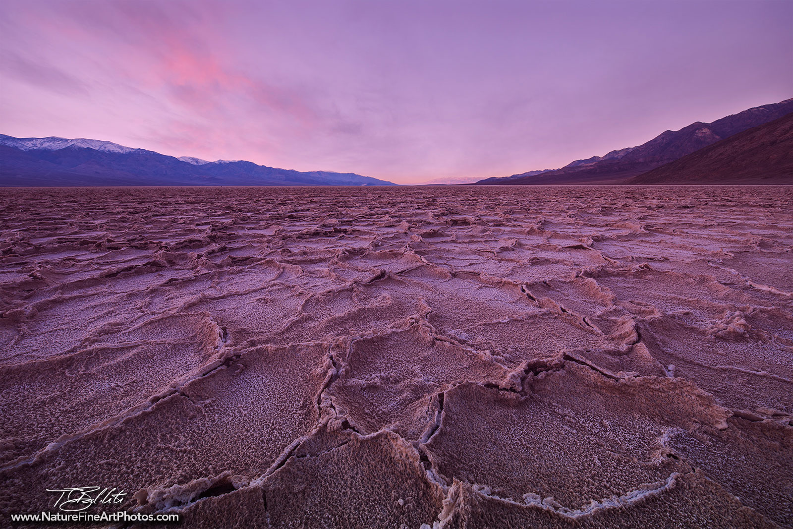 Fine Art Photo of Badwater Flats in Death Valley