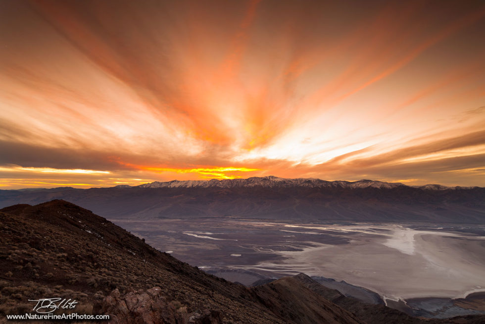 Photo of Dante's View in Death Valley