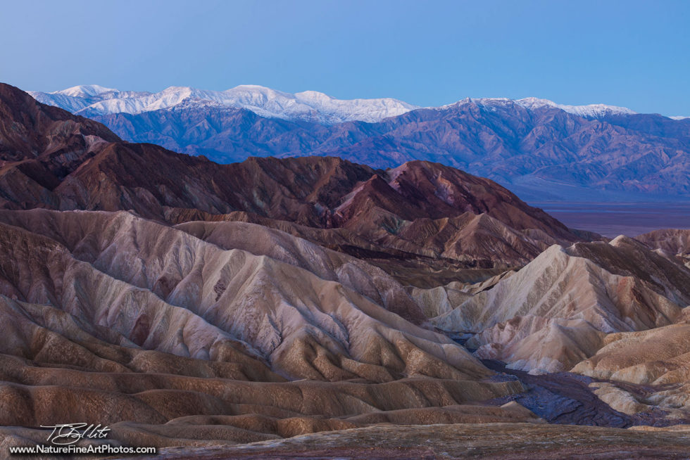 Nature Photo of Zabriskie Point in Death Valley