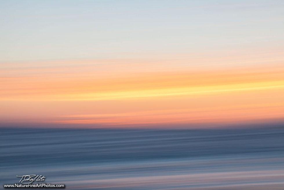 Fine Art Photo Malibu Sunset