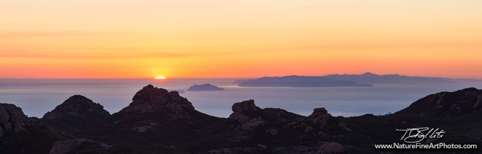 Fine Art Photo of Channel Islands Sunset